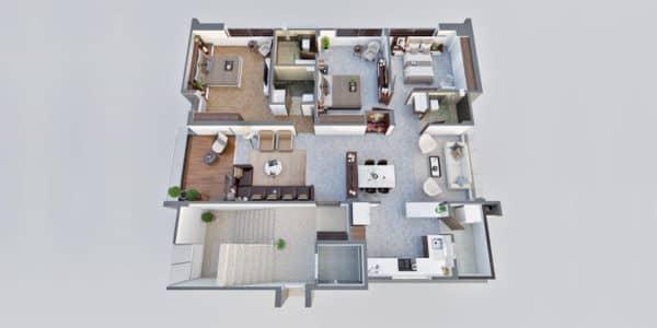 3D Architectural Visualization Design