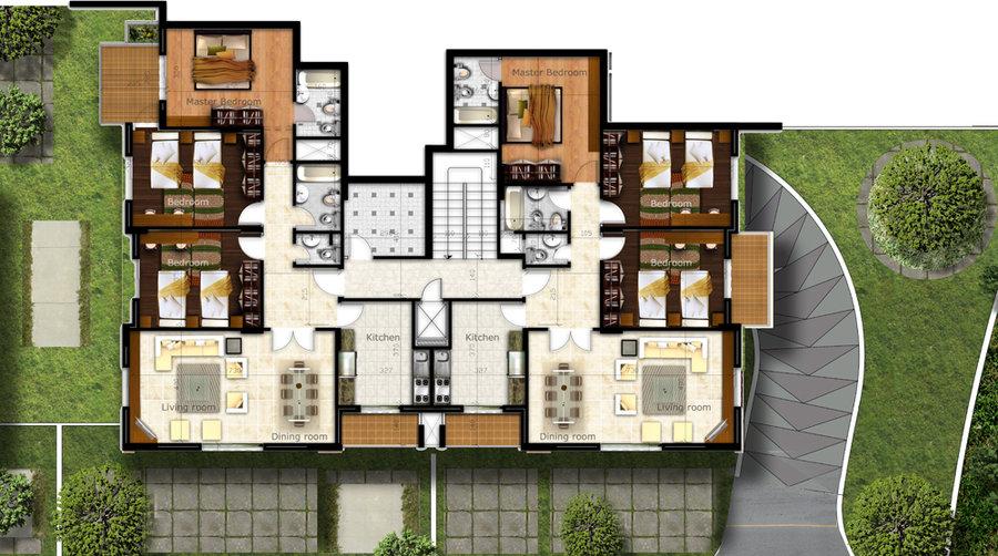 Architectural Floor Plan Renderings